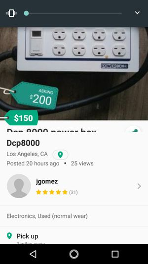 Dcp8000 power box for Sale in Los Angeles, CA