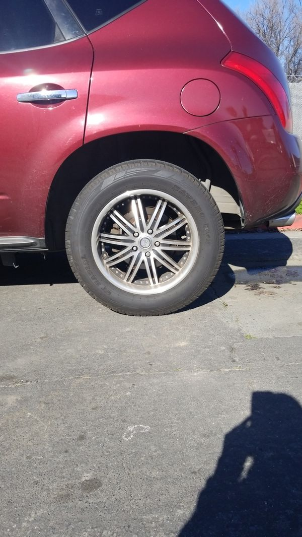 18 Inch Rims For Nissan Murano For Sale In Concord Ca Offerup
