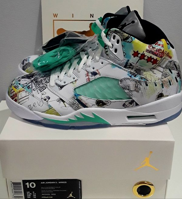 1305f277a18f68 New Air Jordan 5 Retro Wings SZ10 for Sale in Los Angeles