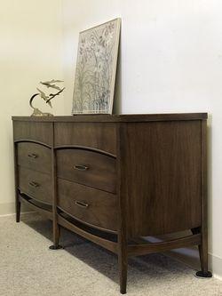 Vintage Mid Century Modern Cabinet Hutch Seattle Thumbnail