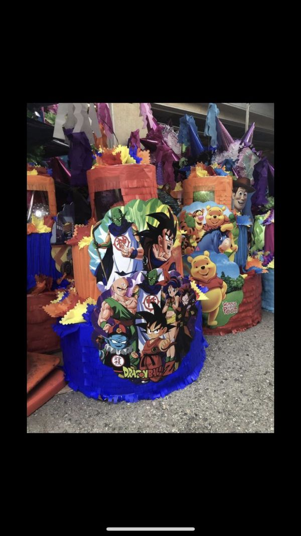 Dragon Ball Z Cake Pinata with Balls for Sale in Los Angeles, CA - OfferUp