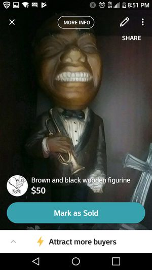 First black trumpatier for Sale in Fairfax, VA