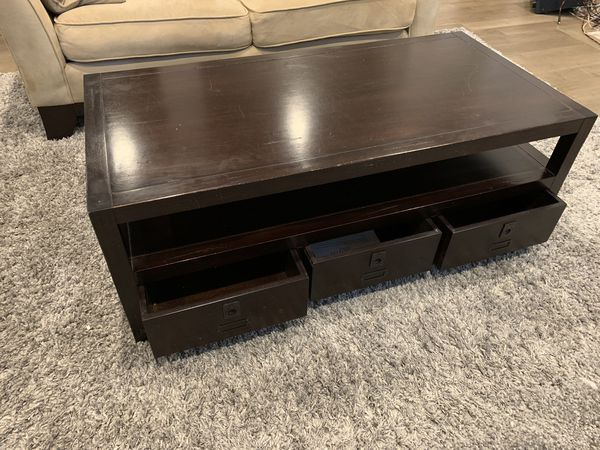 Pottery Barn Rhys Coffee Table For Sale In Issaquah Wa