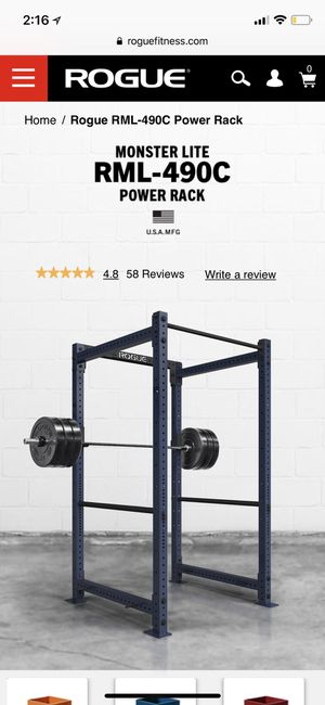 Rouge Power Rack for Sale in Washington, DC