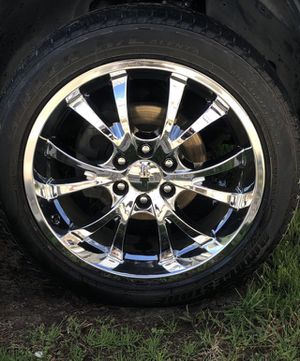 Photo Chevy Suburban 22inch 6 Lug Rims