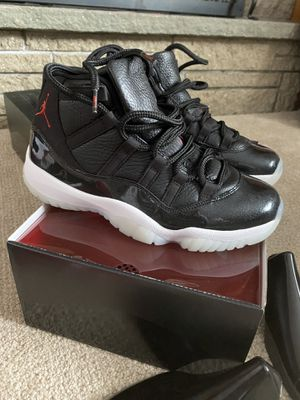 Photo AIR JORDAN RETRO 11 72/10 SIZE 8.5 AIR JORDAN RETRO 11 BREDS SIZE 8.5 2012 RELEASE LIKE NEW CONDITION
