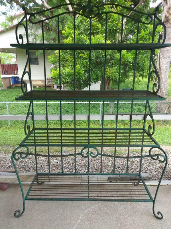 Huge Bakers Rack Plant Shelf All Wrought Iron Home Garden In Lehigh Acres Fl Offerup