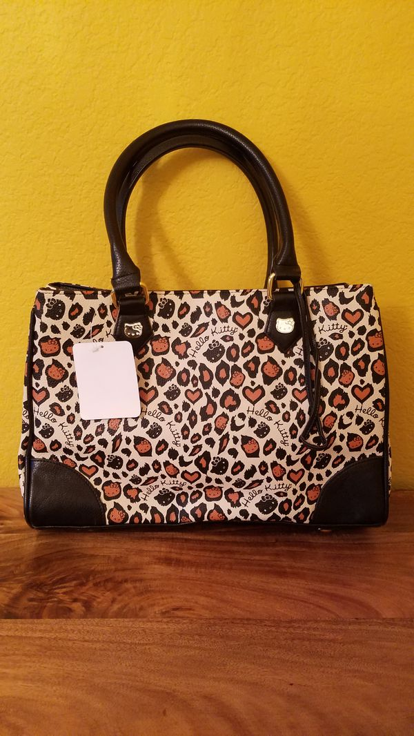 Loungefly Hello Kitty leopard purse for Sale in San Bernardino 7c7b19bdf9146