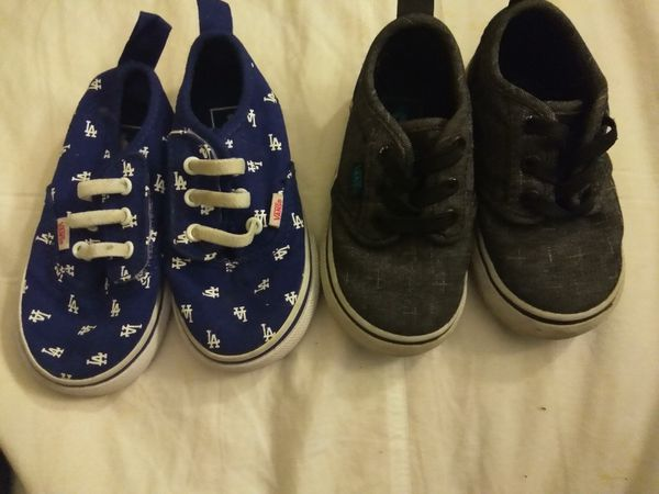 Toddler vans size 5.5 and 6c for Sale in Westlake Village 403b986a3