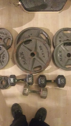 MAX free weights for Sale in Seattle, WA