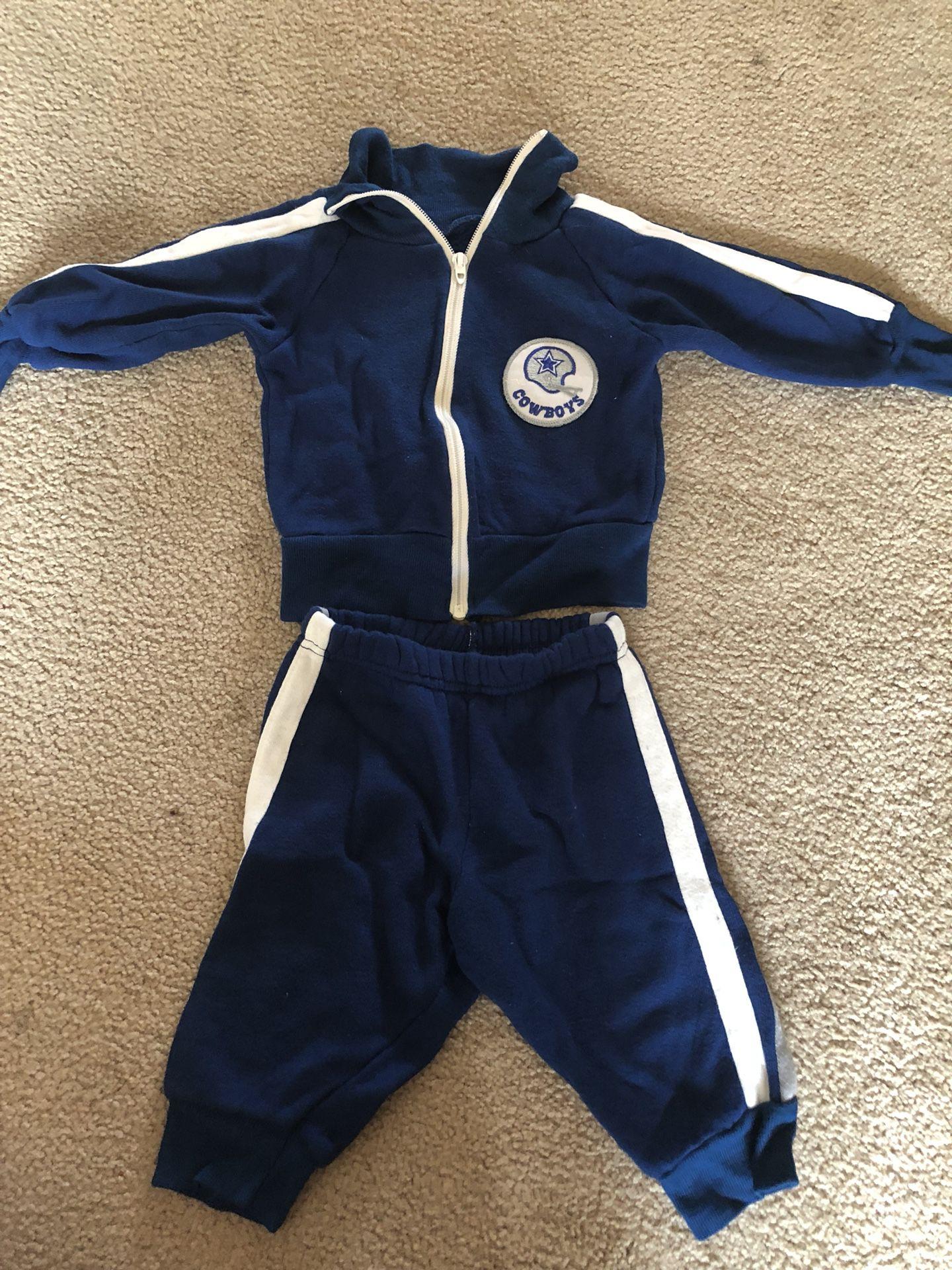 Baby Dallas Coyboys jump suit