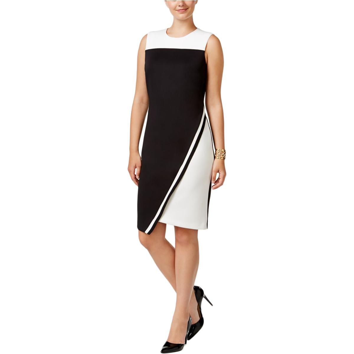 Tommy Hilfiger Womens Party Black-Ivory Size 18
