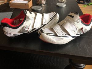 Sgimano Dynalast road bike shoes (size 48) for Sale in Alexandria, VA