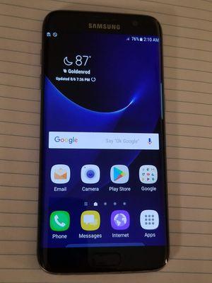 Black Galaxy S7 Edge 32gb UNLOCKED for Sale in Altamonte Springs, FL