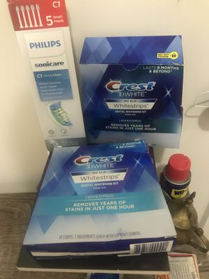 Crest White strips Two Brand new packs for Sale in Aldie, VA