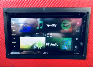 TRADE! JVC KW-V340BT Car Stereo for a stereo with Apple CarPlay for Sale in Tempe, AZ