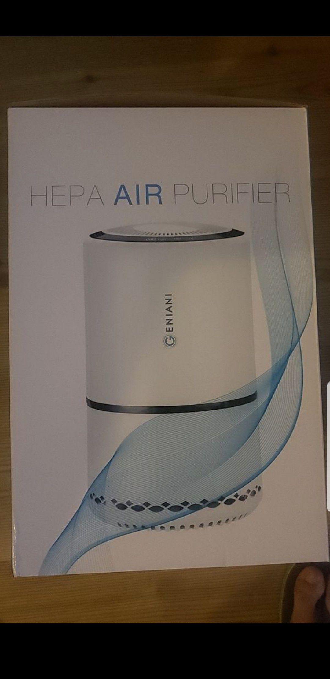 Air purifier with advanced air filter