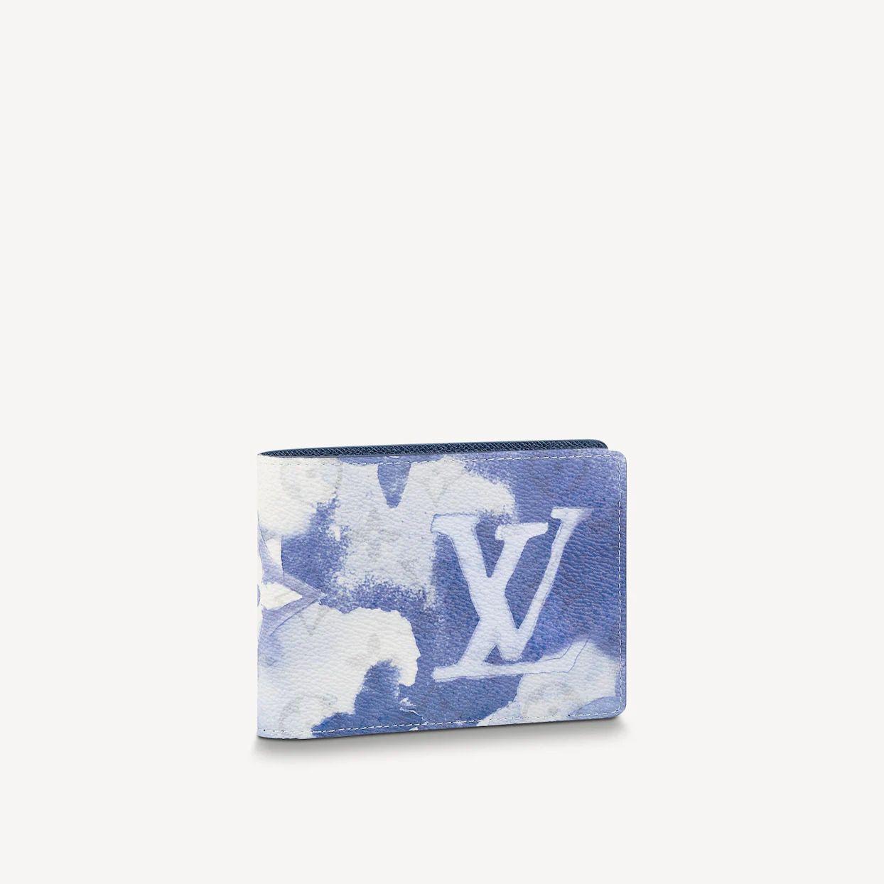 Louis Vuitton Men's Multiple Wallet - Watercolor