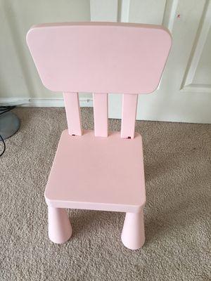IKEA children's chair for Sale in Potomac Falls, VA