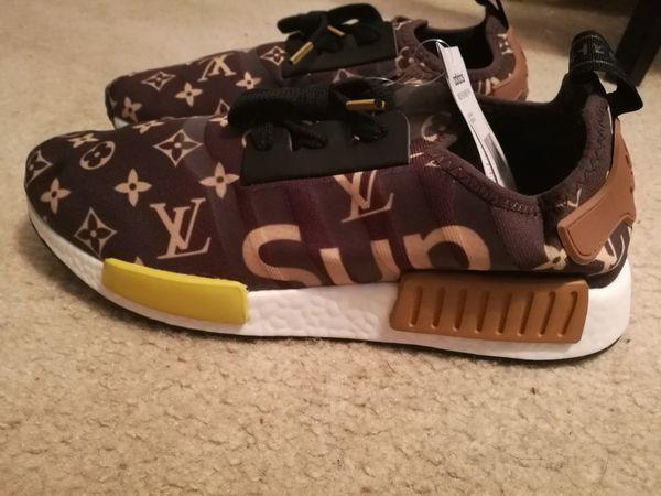 Adidas nmd x louis vuitton x 10 (abbigliamento personalizzato suprema & scarpe