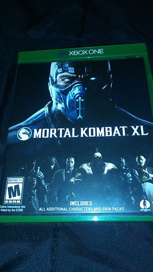 Mortal Kombat for Xbox one video game for Sale in Hernando, FL