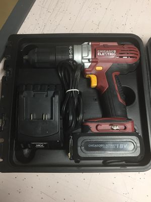 Chicago Electric cordless drill for Sale in Oviedo, FL