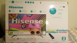 """50"""" Smart TV 4k with warranty available till April 2019 for Sale in Rockville, MD"""