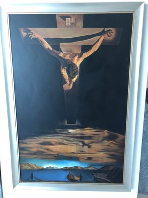 """Huge hand painted """"Dali"""" Inspired Oil Painting for Sale in Miami, FL"""