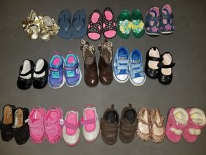 Toddler girl Size 5 shoes for Sale in Chantilly, VA