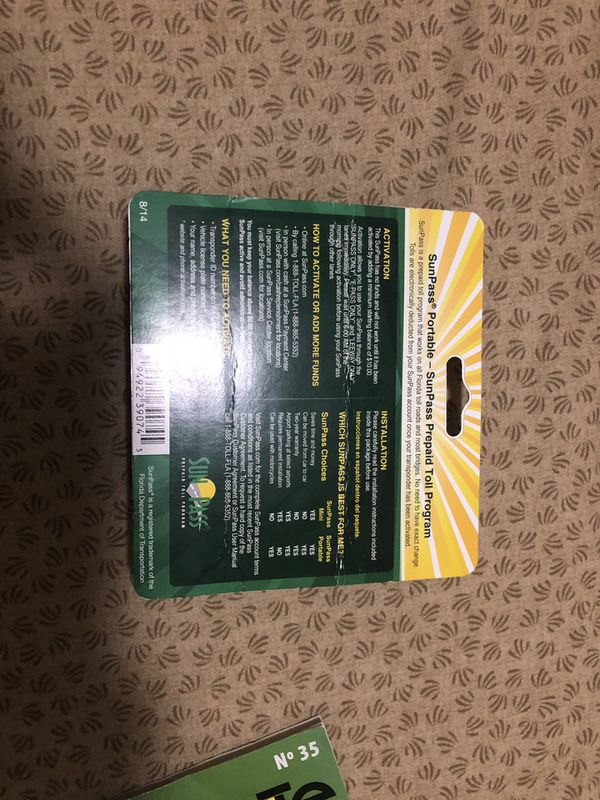SunPass portable (new) for Sale in West Palm Beach, FL - OfferUp