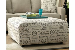ALENYA OVERSIZED OTTOMAN for Sale in Columbia, MD