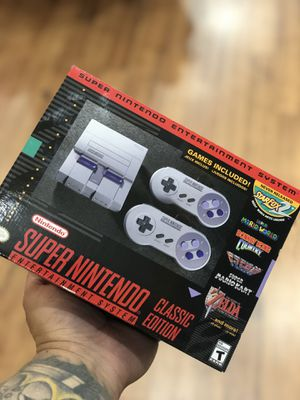 Brand New Super Nintendo Classic Edition for Sale in Silver Spring, MD
