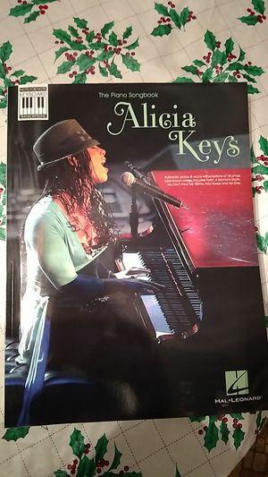 Alicia keys piano book for Sale in Appomattox, VA