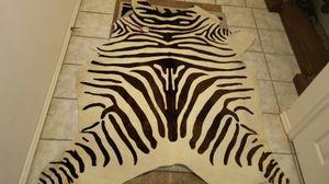 Authentic zebra skin rug. for sale  Tulsa, OK