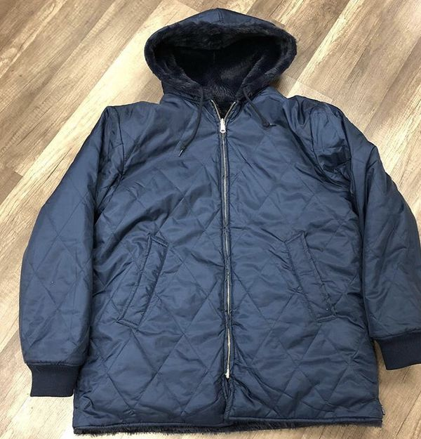 Supreme Reversible Puffer Jacket  LEAVE ME ALONE  Size Large For