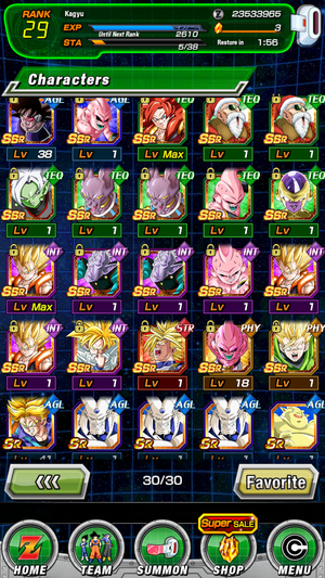 DBZ Dokkan Battle Global Account for Sale in San Francisco, CA