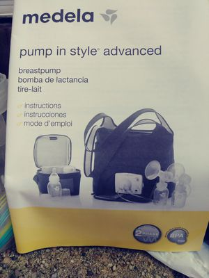 medela on the go pump in style for Sale in Baltimore, MD