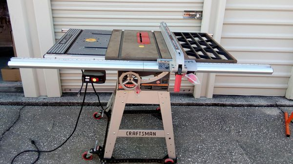 Craftsman 10 Quot Table Saw Router Table For Sale In Debary
