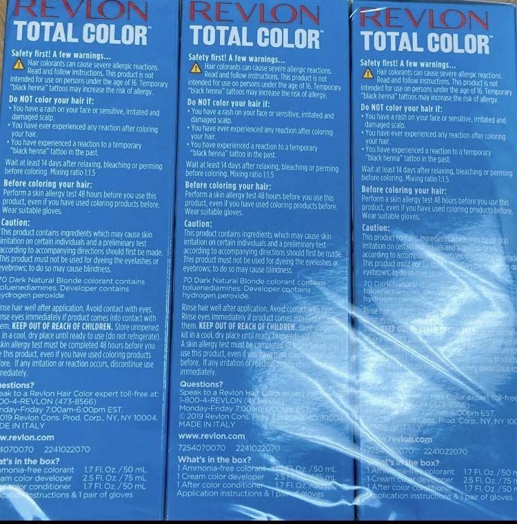Revlon Total Color Permanent Hair Color,