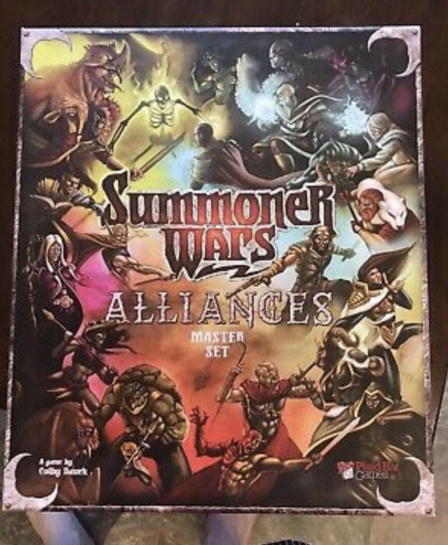Summoner Wars Alliances Master Set Board Game