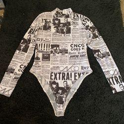 size L, see thru shirt, worn once Thumbnail