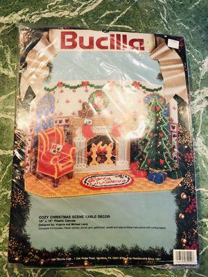 Vintage 20 Ceramic Flocked Light Up Christmas Tree Alyce Calif Usa