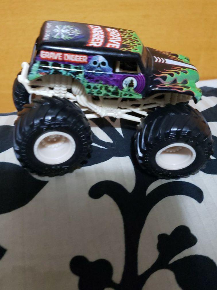 Grave Digger Hot Wheel Truck
