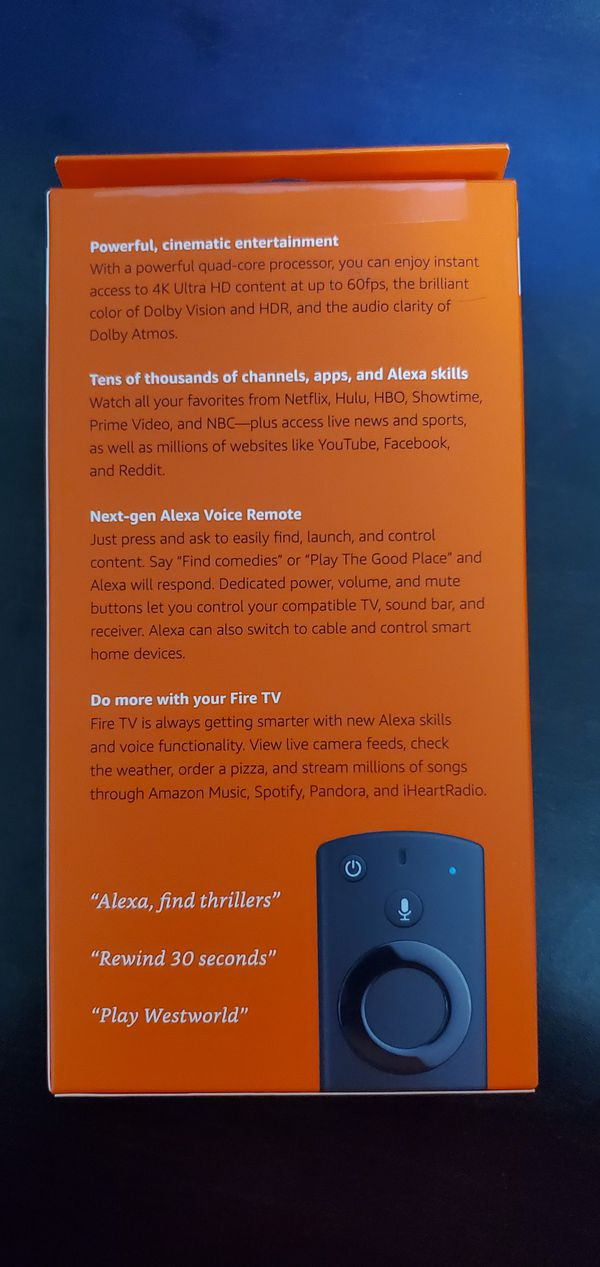 New and Used Fire tv for Sale in San Francisco, CA - OfferUp