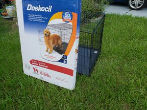Doskosil wire kennel 70-90 lb for Sale in Holiday, FL