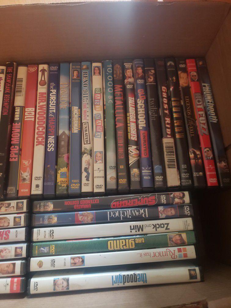 DVD N Bluray Lot