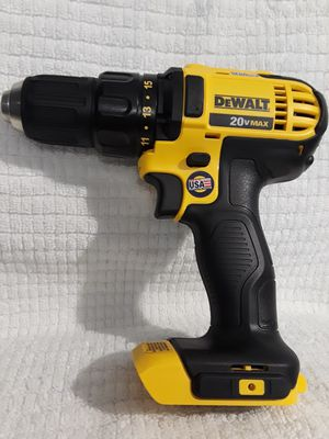Photo (PRICE IS FIRM) DEWALT 20 V MAX COMPAC DRILL 2 SPEED (TOOL ONLY)