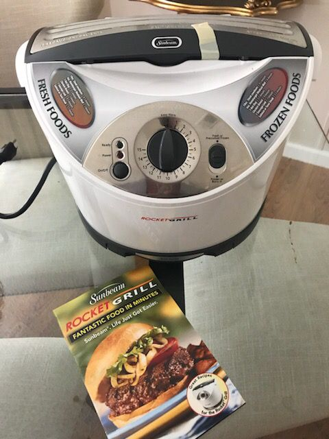 Indoor Sunbeam Rocket Grill Brand New For Sale In Boynton Beach Fl Offerup