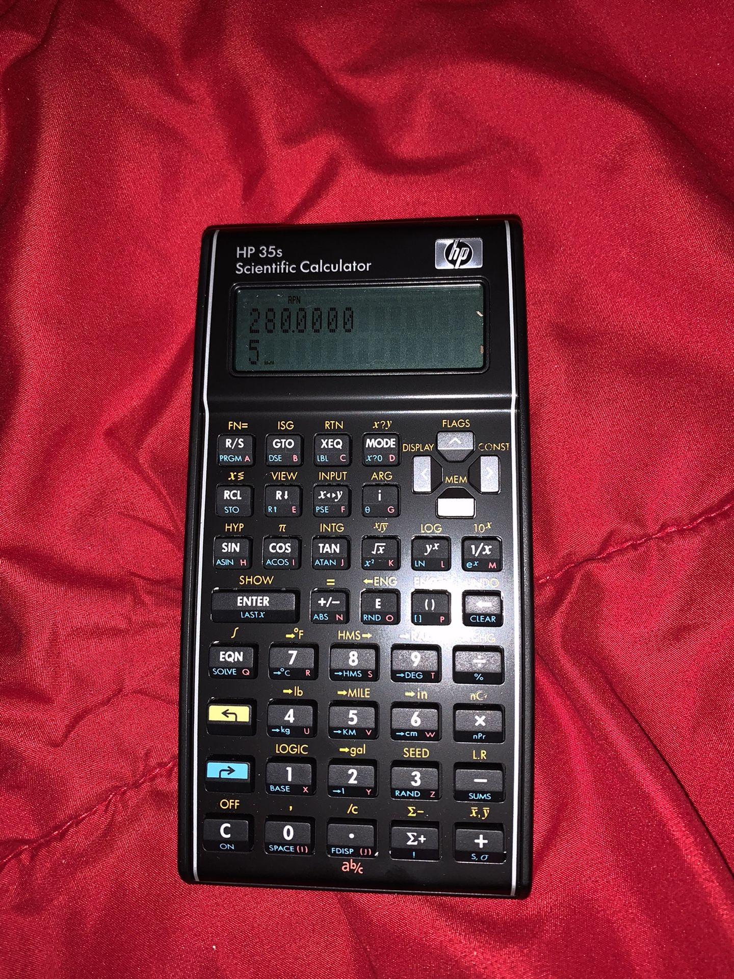 HP 35S Scientific Calculator (Scientifique)