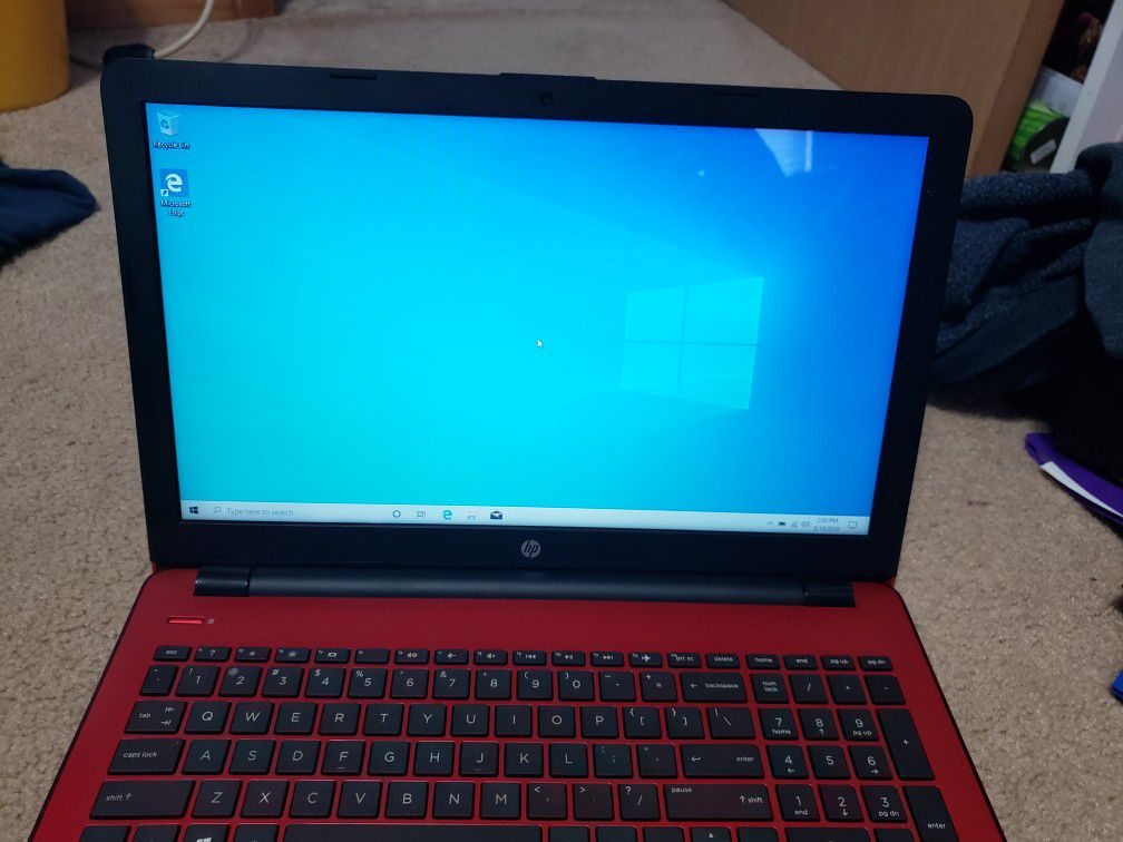 HP 15 bs134wm Intel Pentium Laptop